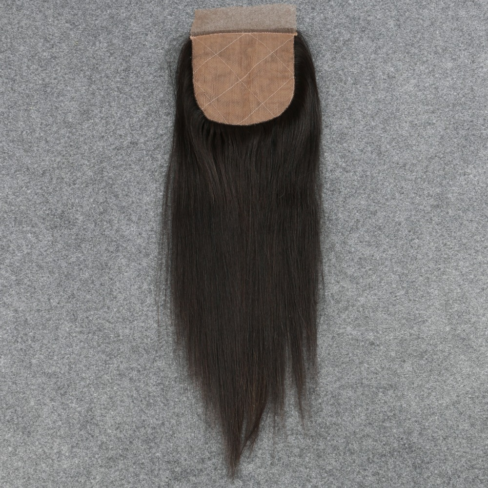 Silk Base Closure Straight 7A Brazilian 100% Human Hair Free/2/3 Side Part Cheap Silk Top Closures Bleached Knots By Aliexpress<br><br>Aliexpress