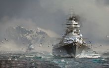 "YX00375 World Of Warships - Multiplayer Online Wargaming Game 38""x24"" Poster"