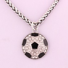 NEW Design fashion soccer long necklace