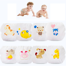 6PCS Baby Training Pants Waterproof Swim Diaper Boy Girl Reusable Underwear Breathable Diapers Toddler Nappy Panties