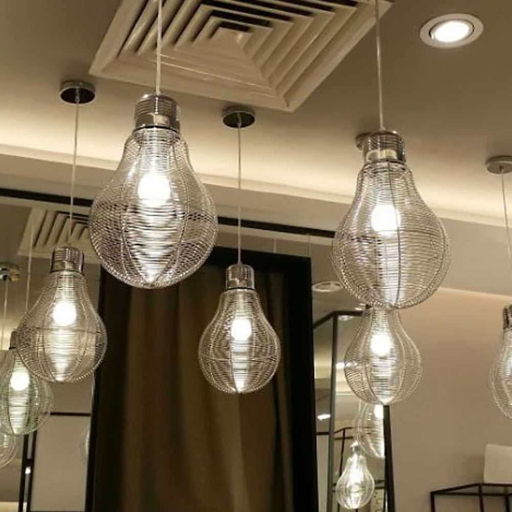 Modern Pendant Lights Aluminum Wire Pendant Lamps For Restaurant/Bar Luminaire Pendientes Home Decoration Lamparas<br>