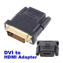 1080P Male To HDMI Female Converter Adapter Connector For HDTV Monitor Convertor DVD Projector
