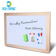 XINDI 30*40cm Dry Erase Whiteboard Magnetic Board Drawing Boards Wood Frame Can Erased Easily Write Repeated Factory Supplier