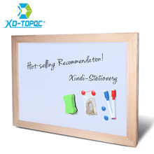 XINDI 30*40cm Dry Erase Whiteboard Magnetic Board Drawing Boards Wood Frame Can Erased Easily Write Repeated Factory Supplier(China)