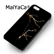 MaiYaCa skull Rottweiler dog fashion soft mobile cell Phone Case Cover For iPhone 6 6S Custom DIY cases luxury shell(China)