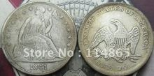 1841 Seated Liberty Silver Dollar Coin COPY FREE SHIPPING(China)