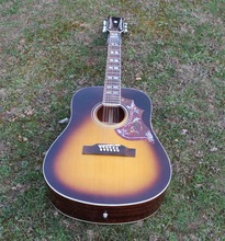 2016 new arrivel  12 strings Hummingbird acoustic guitar ,12 string acoustic  guitars