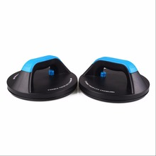 Men Power Training Rolling Pushups Stands Gym Exercise Chest Arm Body Building Not Rotatable Push ups Stands Fitness Equipment(China)