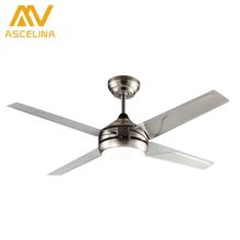 ultra quiet ceiling fan 110-240v luxury ceiling fan modern fan lamp for living room, innovative ceiling lights with lights