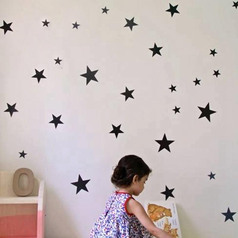 HTB1U9kicvjM8KJjSZFNq6zQjFXa9 - Gold stars wall decal vinyl stickers For Kids Rooms