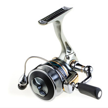 Usreel 180sx full metal spinning reel ice reel double spools 5 ball bearings alloy body