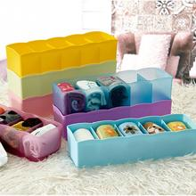 2016 Candy Color Multifunction plastic Desktop And Drawer Storage Box Office Organizer Box 26.7*6.6*8.3cm