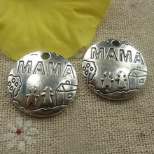 102 pieces tibetan silver nice charms 22x3mm #4433