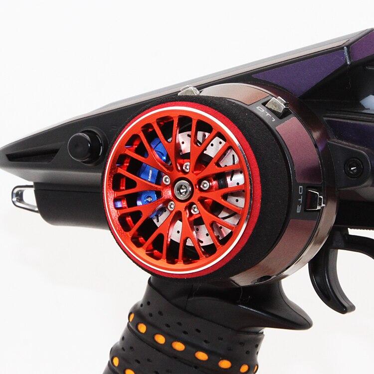 FUTABA 4PV 4PLS 4PXR 7PX Remote Control Aluminum Alloy Hand Wheel<br>