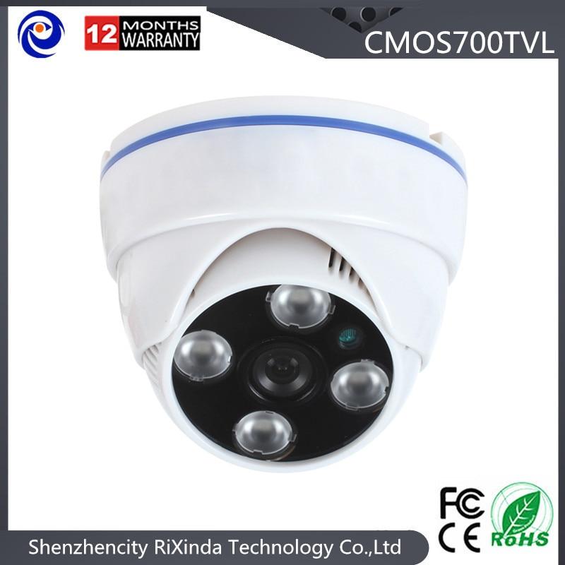 2016newest CCTV Camera 700TVL IR Cut Filter 24 Hour Day/Night Vision Dome  Surveillance Plastic Home Camera<br><br>Aliexpress