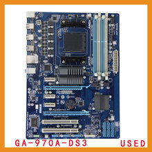 Free shipping desktop motherboard  forGigabyte GA-970A-DS3  Socket AM3+ DDR3 32G Desktop motherboard ,100% tested.