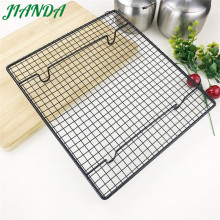 JIANDA (Send a Gift)1pc Stainless Steel Wire Steaming Barbecue Rack BBQ Grill Mesh Oven Net Carbon Grill 3 Sizes(China)