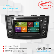 Two Din 7 Inch Car DVD Player For SUZUKI SWIFT 2011- With 3G Host GPS Navigation Bluetooth IPOD TV Radio Free Map Free Camera(China)