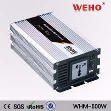 (WHM500-241)Full-power 500W Modified sine wave solar inverter 110VAC output 24v dc to ac power inverter