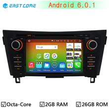 4G LTE 1024*600 Octa Core 64-Bit CPU Android 6.0 Car DVD Player For Nissan X-Trail X Trail Qashqai 2012 2013 2014 2015 Radio GPS(China)
