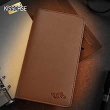 KISSCASE Retro Leather Wallet Pouch Bag For iphone 7 7 plus 6 6s For Samsung Galaxy S8 S7 S6 edge Case Card Slot Purse Cover