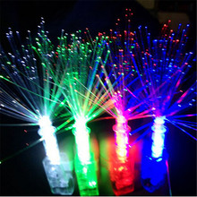 10Pcs Hot Sale LED Finger Lights Toy Kid Children Light-Up Toys Gifts Cheap Wholesale(China)