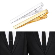 TOMTOSH 2017 Fashion Metal Silver Gold Simple Necktie Tie Bar Clasp Clip Clamp Pin for men gift(China)