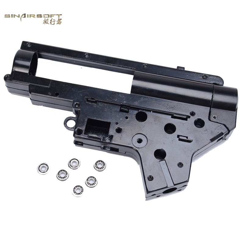 Sinairsoft Energy 8mm Fast In Spring Enhanced Bearing Ver2 QD Quick Release Gearbox for Airsoft M4 / MP5 AEG<br><br>Aliexpress