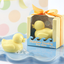 200pcs Hot for little duck shape handmade soap wedding gift scented decorative soaps baby shower soap favors gifts