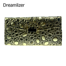 3 Fold Genuine Leather Long Women Stone Texure Wallet Metal Hasp Cellphone Pocket Female Clutch Purse Wallet Women Card Holder