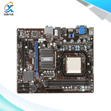 MSI 880GM-E35 Original Used Desktop Motherboard AMD 880G Socket AM3  DDR3 16G STAT2 USB2.0 Micro ATX