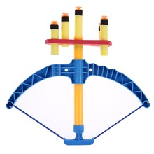 Kids Bow Hunting Toy With Soft Bullet Children Outdoor CS Game Bow and Arrow Toy Plastic Gun Toy