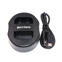 USB Dual Battery Charger for CANON camera NB-2L NB 2L NB2L NB-2LH 350D 400D G7 G9 S30 S40 z1