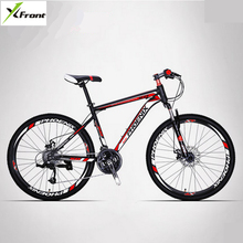 New Brand 26 inch carbon steel frame 21/27 speed disc brake mountain bike outdoor sport downhill bicicleta off-road bicycle(China)