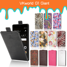 Luxury Card Slot flip cover PU Leather Case For VKworld G1 Giant