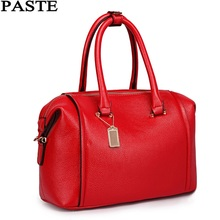 PASTE New&Hot!woman's leather Handbags High quality luxury Vintage Women messenger bag Fashion Lady shoulder Bags/crossbody bag(China)