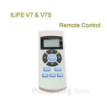 1 pc Original ILIFE V7S Remote Control of Robot Vacuum Cleaner parts from the factory.
