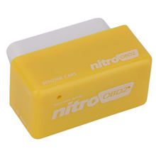 New OBD2 Plug and Drive OBDII Performance Chip Tuning Box for Benzine Car Yellow Hot Selling
