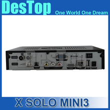 3pcs X SOLO MINI 3 Satellite Receiver 1200MHz Dual DMIPS Processor 4GB Serial Flash 1GB DDR3 DVB-S2+DVB-T2/C X solo mini 3(China)