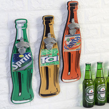 1Pc Retro Beer Bottle Opener Wall Bottle Opener Cafe Bar Restaurant wall Pendant For Home Kitchen Furnishing Wall Mural Wall