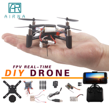 RC Helicopter DIY Mini Nano Drones FPV Real-time Rc Drone 100 100mm Remote Control Racing Quadcopter With Wifi Camera