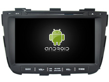Android 5.1.1 CAR Audio DVD player FOR KIA SORENTO 2013 gps Multimedia head device unit  receiver BT WIFI