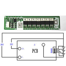 High Power 3s cells 12V dc 60A Battery Protection Board  Balance  for Li-ion Lithium 3.7V 18650 batteries