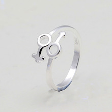 25% Off Ring Jewelry plain Silver color Ring for Women Wedding jewelry Acessorios Para Mulher Love reasonable ring dropshipping(China)