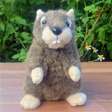 Plush Toy Standing Marmot Dolls Simulation Animals Toys Children Gifts Groundhog Doll(China)