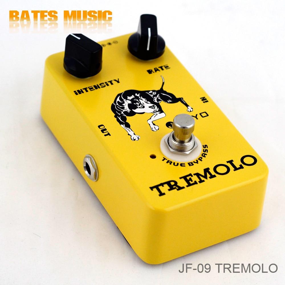 JOYO JF-09/Guitar Effect Pedal Tremolo, electric bass dynamic compression effects<br><br>Aliexpress