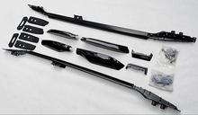 TOP Quality SUV Car 2 pcs Roof Rack OEM Style Roof Racks Fit For Toyota Prado 2700/4000/LC150 10 11 12 13 14 15(silver, black)