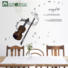 Factory Direct Kindergartener Notes Violin Music Room Piano Room Wall Stickers a Generation Of Fat
