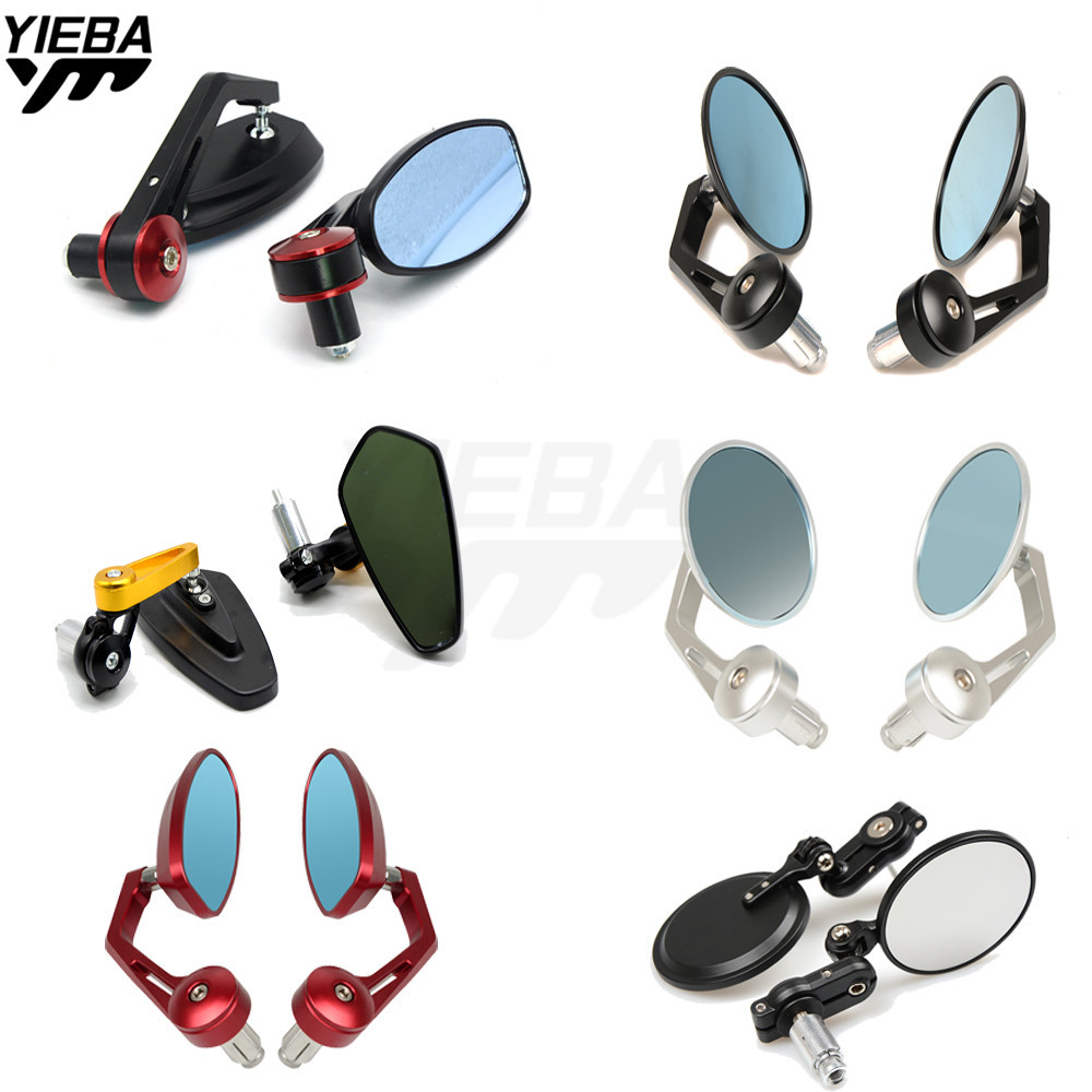 Motorcycle mirrors bar end mirror Rear view Motor handlebar end mirror FOR Honda CBR 600 F2 F3 F4 F4i CBR600RR CB1000R CBR250R