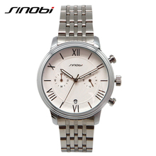 SINOBI Brand Original Business High Quality Men Watches 2017 Casual Factory Directly Sale Quartz Watch Men relogio masculino(China)